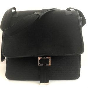 Dior Homme logo messenger bag